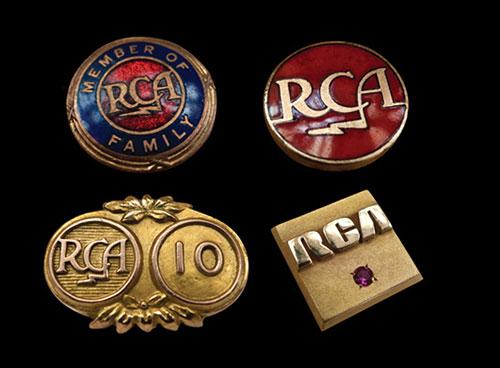 RCA badges