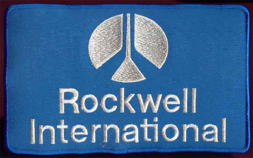 Rockwell International logo Saul Bass