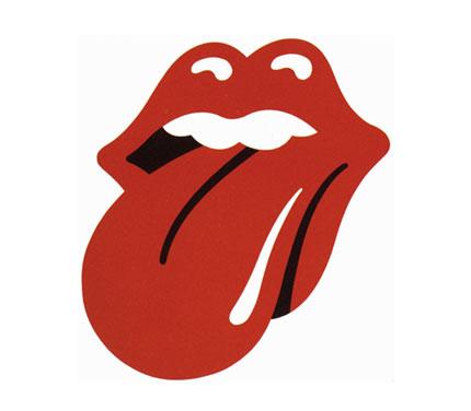 Rolling Stones lips logo design