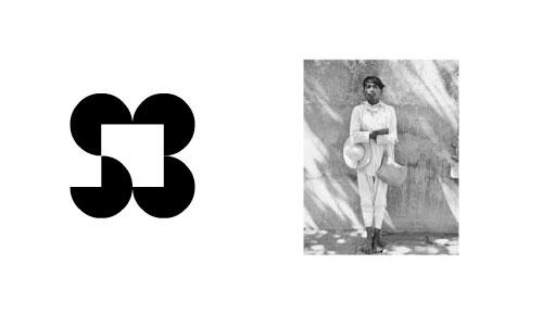 Sandra Berier Gallery logo, by Lance Wyman