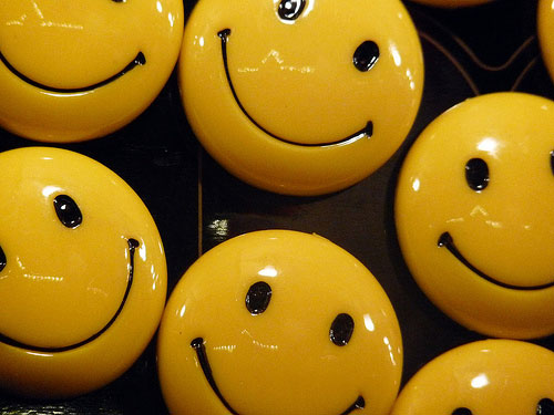 Smiley badges