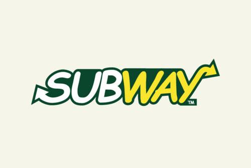Subway logo in Comic Sans