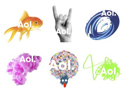 new AOL logo
