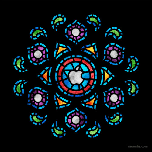 Apple window logo