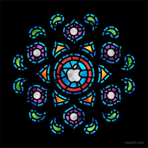 Apple window logo