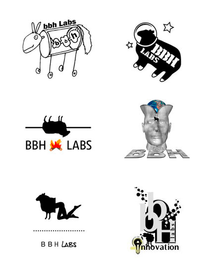 BBH Labs logo options