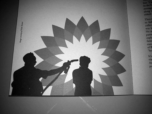 BP logo parody Vietnam