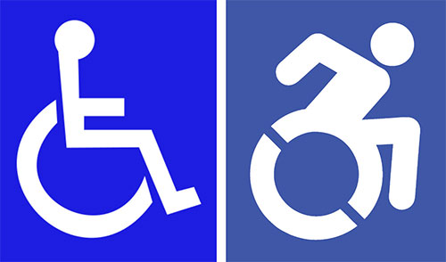 Disabled symbol in New York