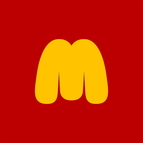 Fat McDonalds logo