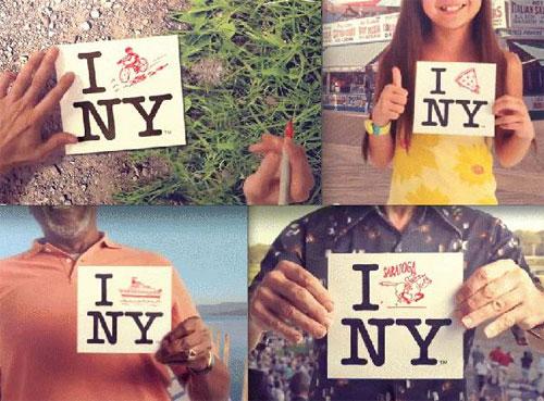 I Love NY logo makeover