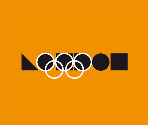 London 2012 logo alternative