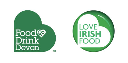 Love Irish Food logo design