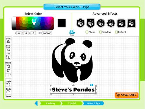 Panda logo rip