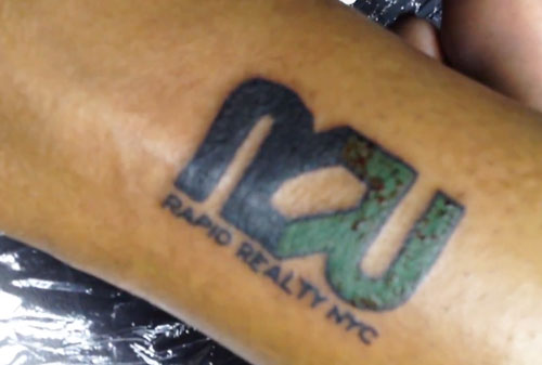 Rapid Realty tattoo
