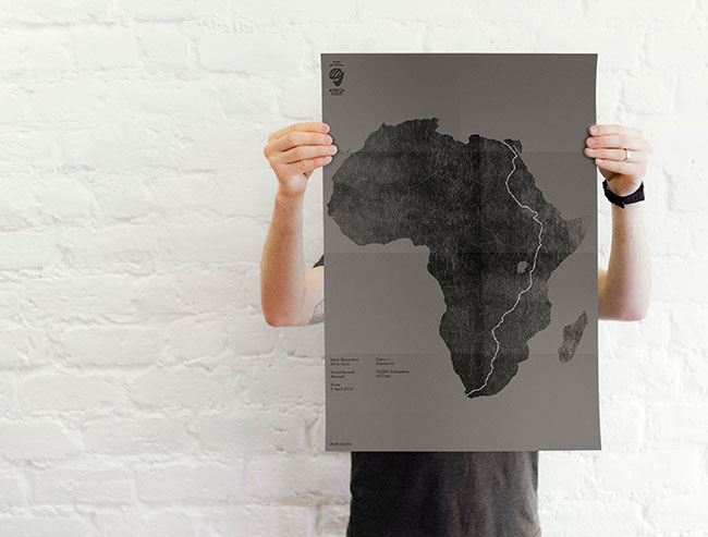Africa Solo route poster