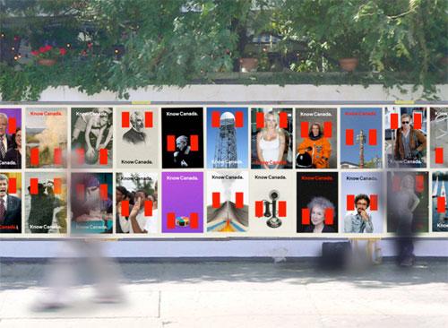 Canada rebrand by Bruce Mau Design
