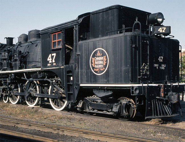 Canadian National Railways engine