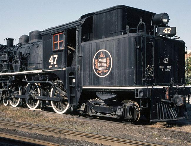 Canadian National Railways engine
