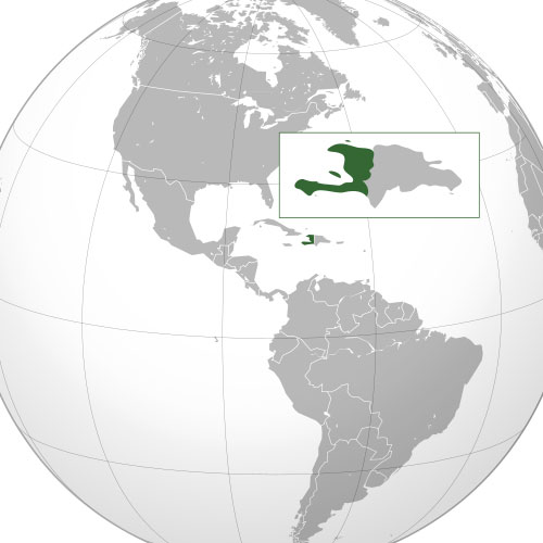 Haiti location
