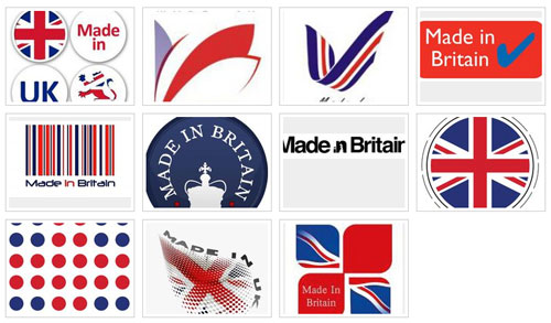 Made in Britain logo shortlist