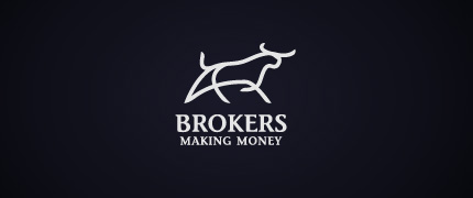Brokers logo design