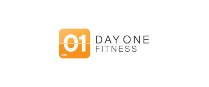 day one fitness logo design