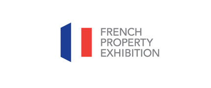 French Property Exhibition logo design