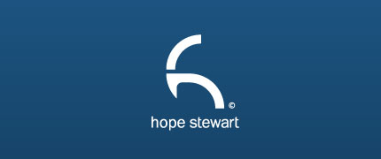 Hope Stewart logo design