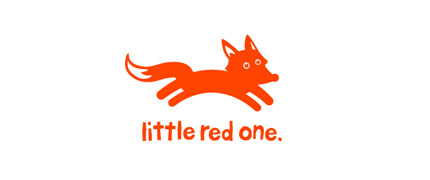 little red one logo design