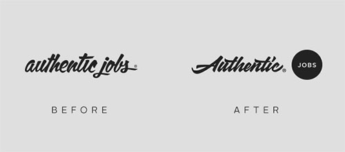 authentic-jobs-logo-before-after An Authentic update design tips