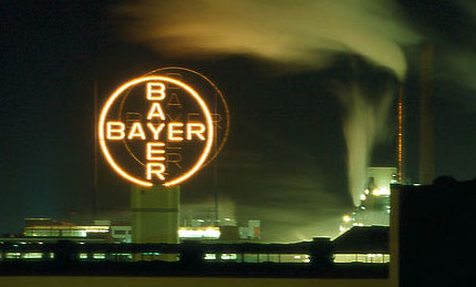 Bayer factory Leverkusen