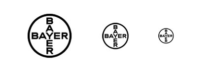 Bayer logo design