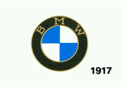 BMW logo de 1917