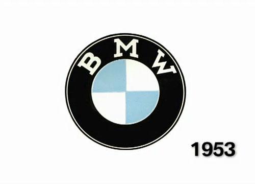 BMW logo de 1953