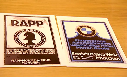 BMW logo Rapp logo