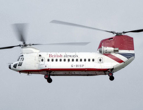British Airways helicopter