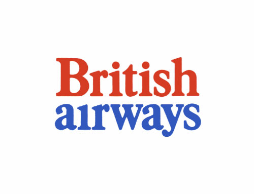 Old British Airways logo