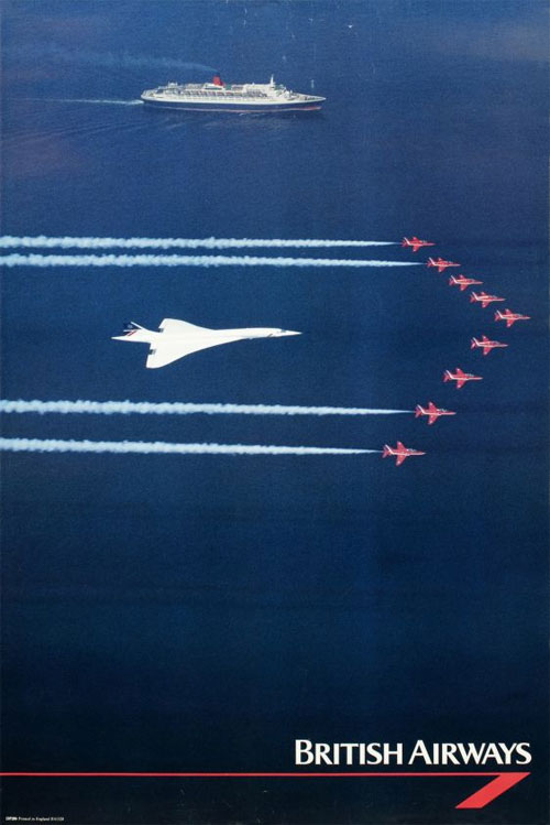 British Airways poster