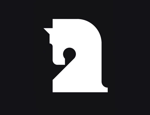 Knight Horse Logo Desi...