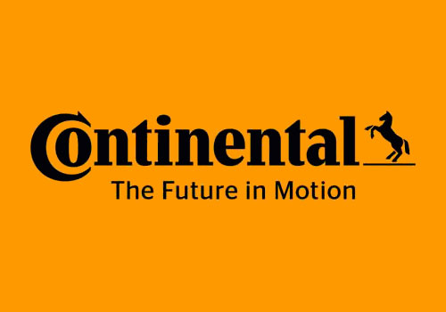 The new Continental logo no longer repeats the name three times, so ...