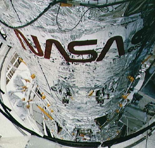 NASA worm logo