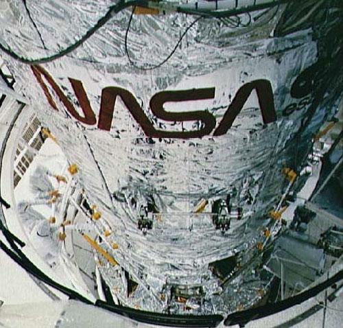 NASA worm logo