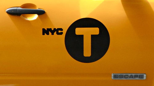 New York taxi logo