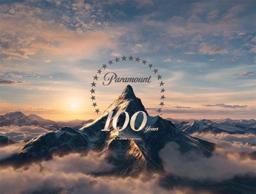 Paramount logo 100 years