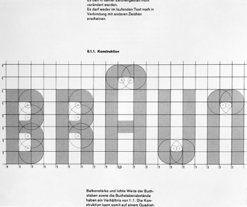 revised Braun logo