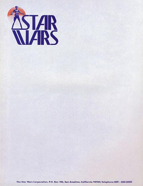 Star Wars letterhead