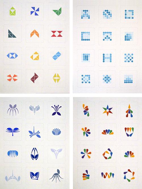 Tangram logos
