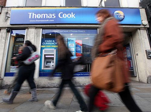Thomas Cook signage 2011