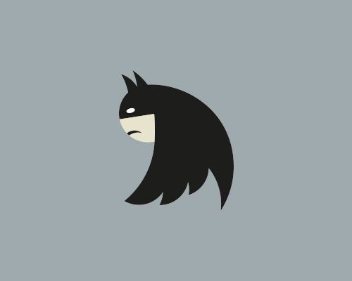 Twitter logo Batman
