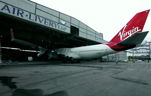 Virgin Atlantic livery